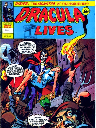 Marvel UK, Dracula Lives #9