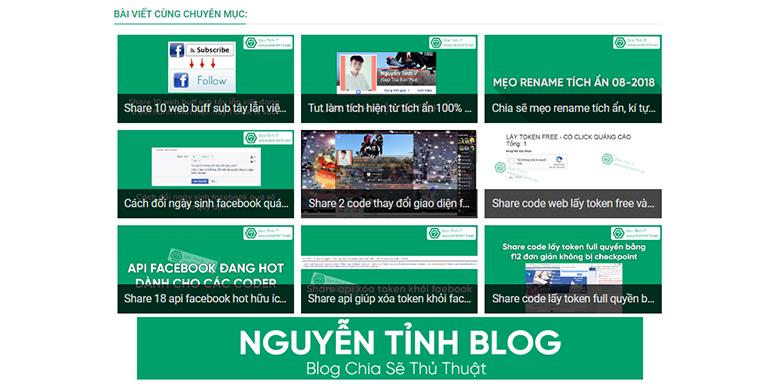 Hướng dẫn tạo bài viết cùng chuyên mục theo nhãn có ADS cho blogspot tuyệt đẹp