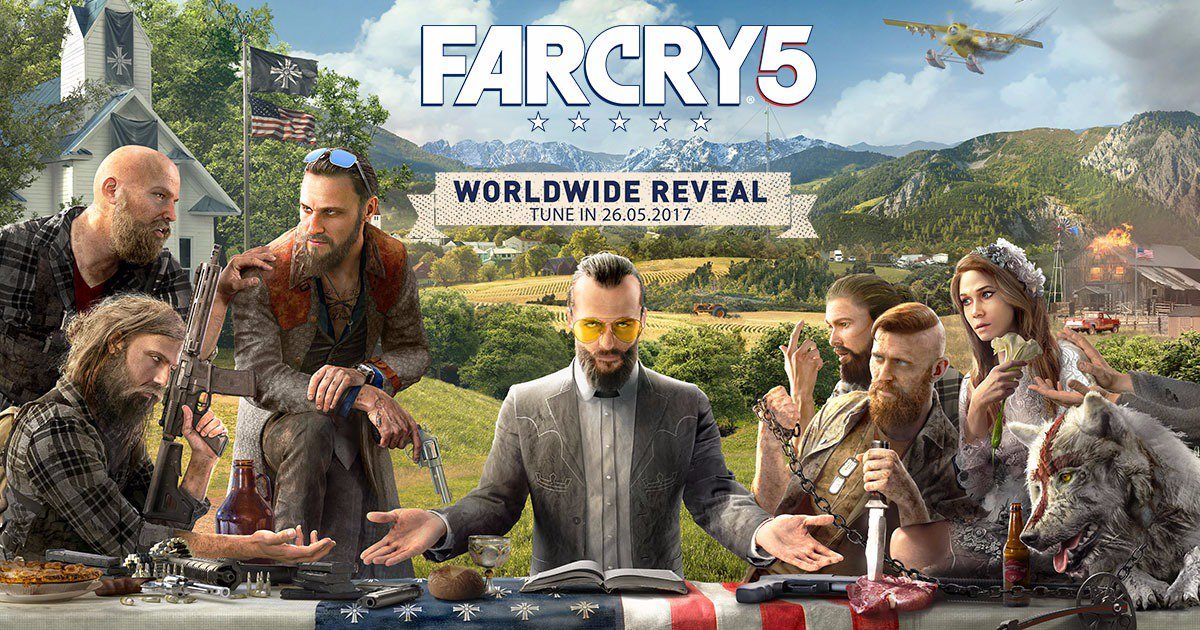 Far Cry 5 | Novo game da Ubisoft ganha primeira arte