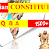 1500+ Indian Constitution Questions and Answers for Competitive Exams PDF Download