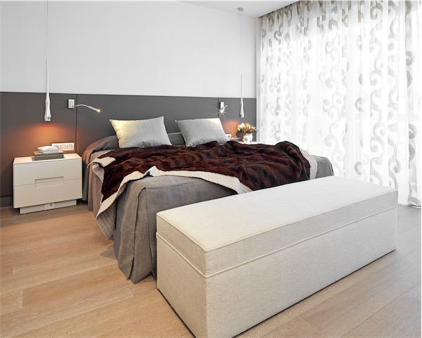 dormitorio princiapal vivienda en zona alta de Barcelona chicanddeco
