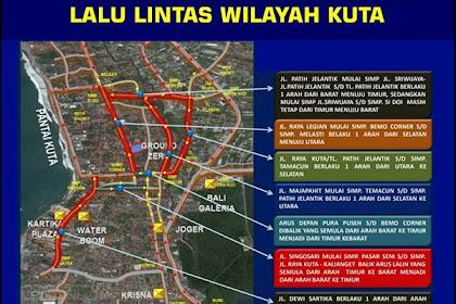 Perubahan Arus Lalu-lintas di Wilayah Kuta