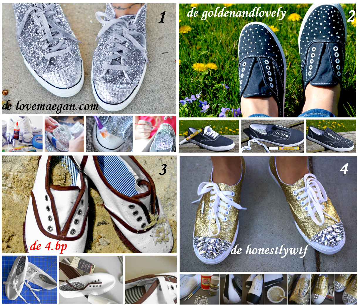 zapatillas, tunear,refashion, reciclar, sneakers