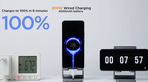 Xiaomi reviews its ultra-fast charger