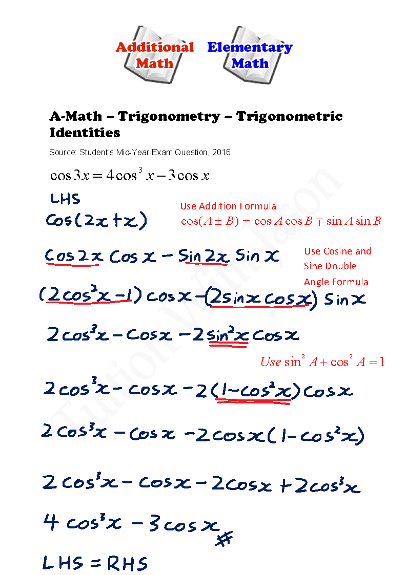 trigonometry essay question Although trigonometry historically developed from the use of triangles in applications such as navigation, surveying, map-making and architecture, it is important for students to be aware that there are essentially two different approaches to trigonometry (and trigonometric functions).