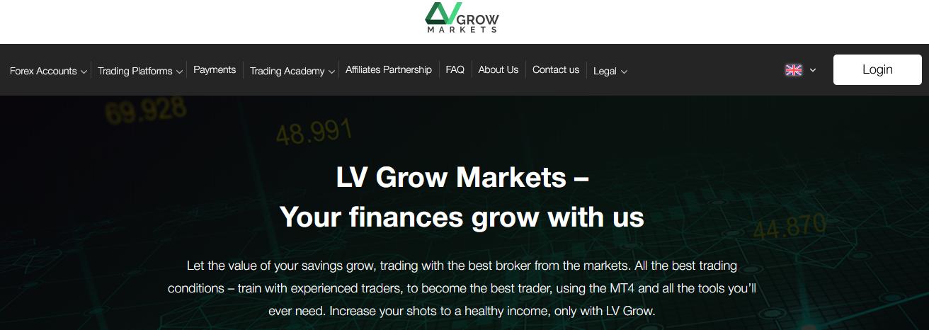 Мошеннический сайт lvgrowmarkets.com – Отзывы, развод. LV Grow Markets мошенники