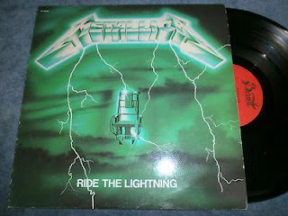 "Metallica - ""Ride the Lightning"" - zielona okładka"