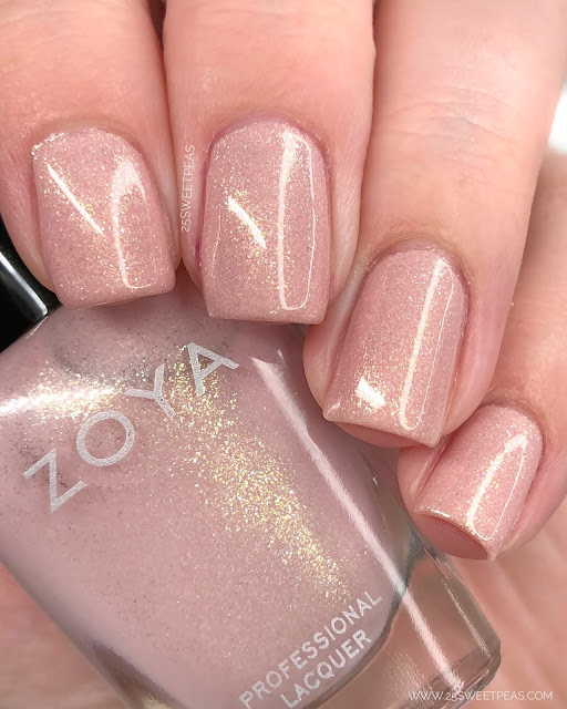 Zoya Corinna Splash Collection 25 Sweetpeas