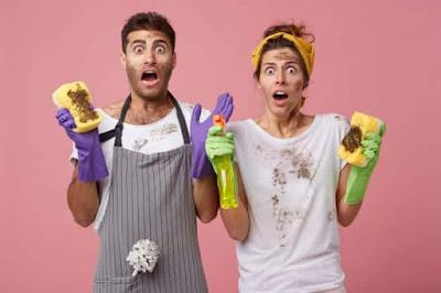 النظافة بين داخل المنزل وخارجه - أوراق مجتمع