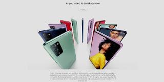 Pilihan warna Samsung Galaxy S20 FE