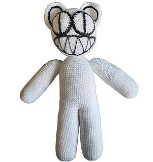 PATRON GRATIS KID A BEAR | RADIOHEAD AMIGURUMI 41874