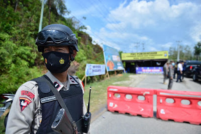 618 Kendaraan Putar Balik di Lima Pos Penyekatan Mudik Perbatasan Riau