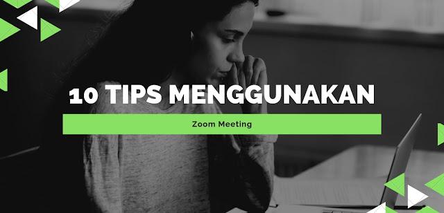 tips menggunakan zoom