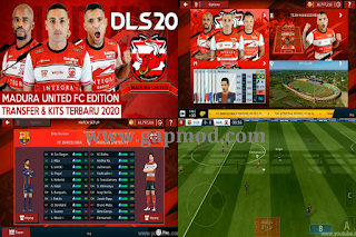 DLS Madura United Edition Kits Transfer 2020/2021