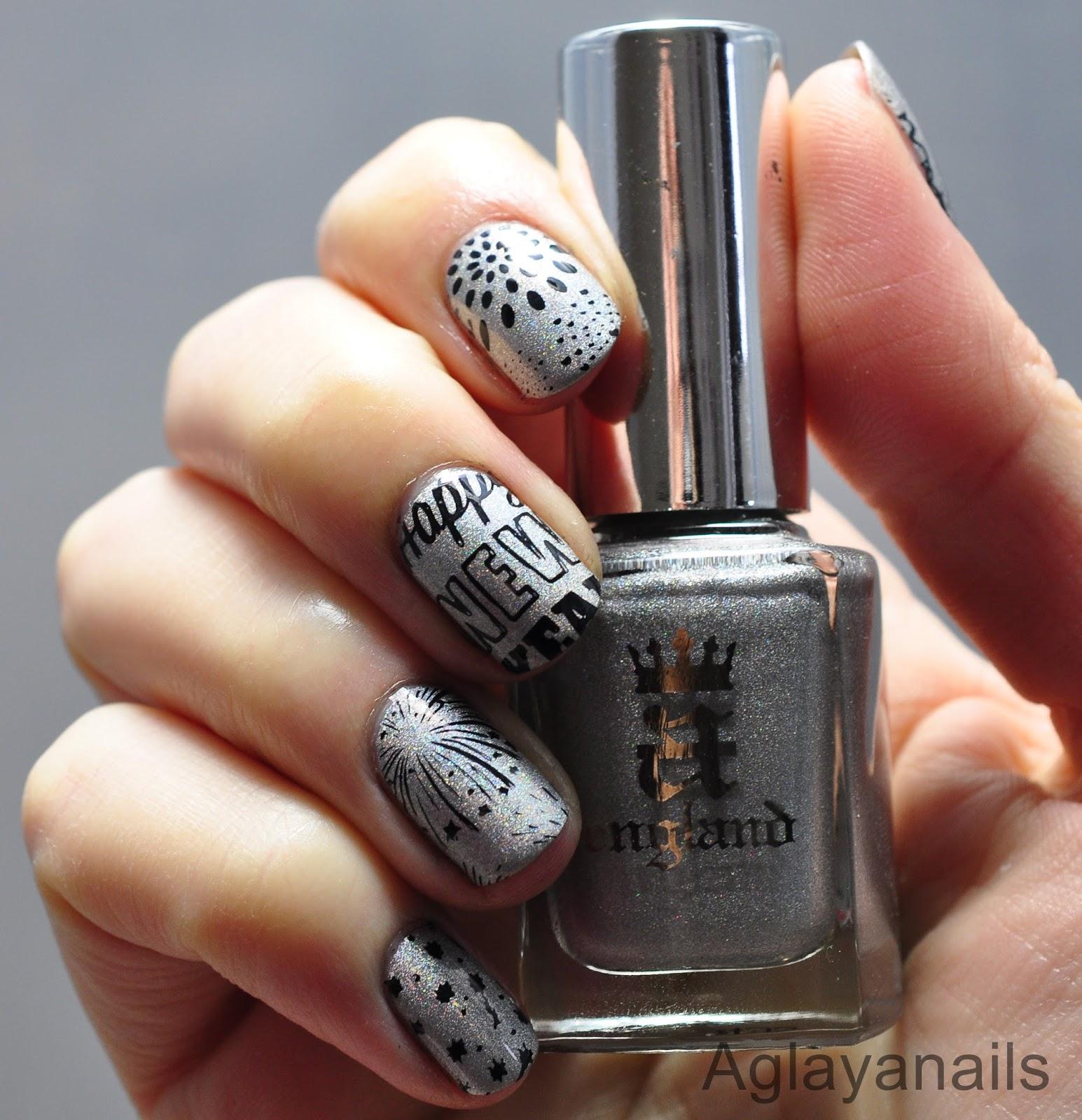Aglayanails 26 great nail art ideas new year new you 26 great nail art ideas new year new you prinsesfo Choice Image