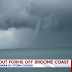 Waterspout filmed off the coast of Broome, Western Australia