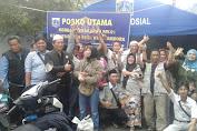 Komunitas Forum Warga Tambora (FWT) Berikan Bantuan Korban Kebakaran di Jembatan Besi