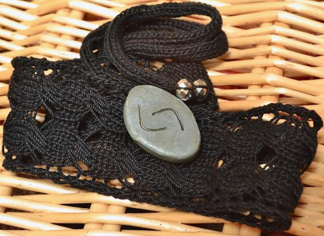 Jera Rune Inspired Knitting Pattern Free Lace Choker Knitting Pattern - Free Lace Choker Knitting Pattern