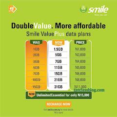 New Smile 4G ValuePlus Data Plans, Get Double Data Bonus