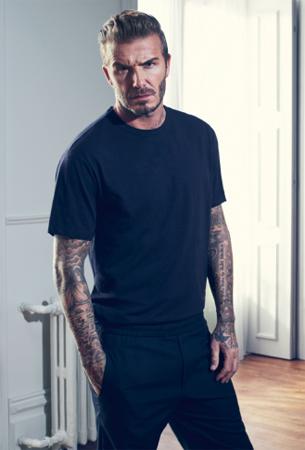 David Beckham camiseta H&M nueva colección