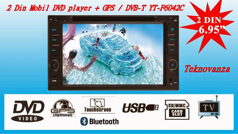 MULTIMEDIA PLAYER MOBIL SPESIAL DVB-T YT-F6042C