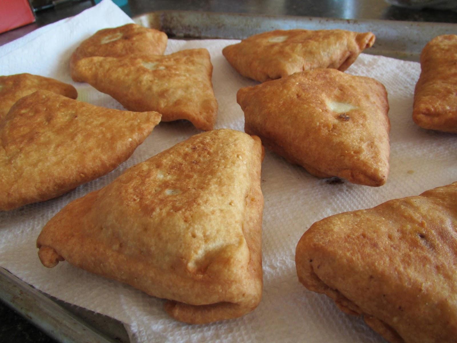 Gluten Free Beef Samosas