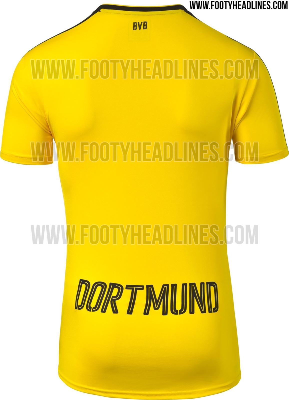 nike foamposite galaxie - Borussia Dortmund 16-17 Kit Released - Footy Headlines