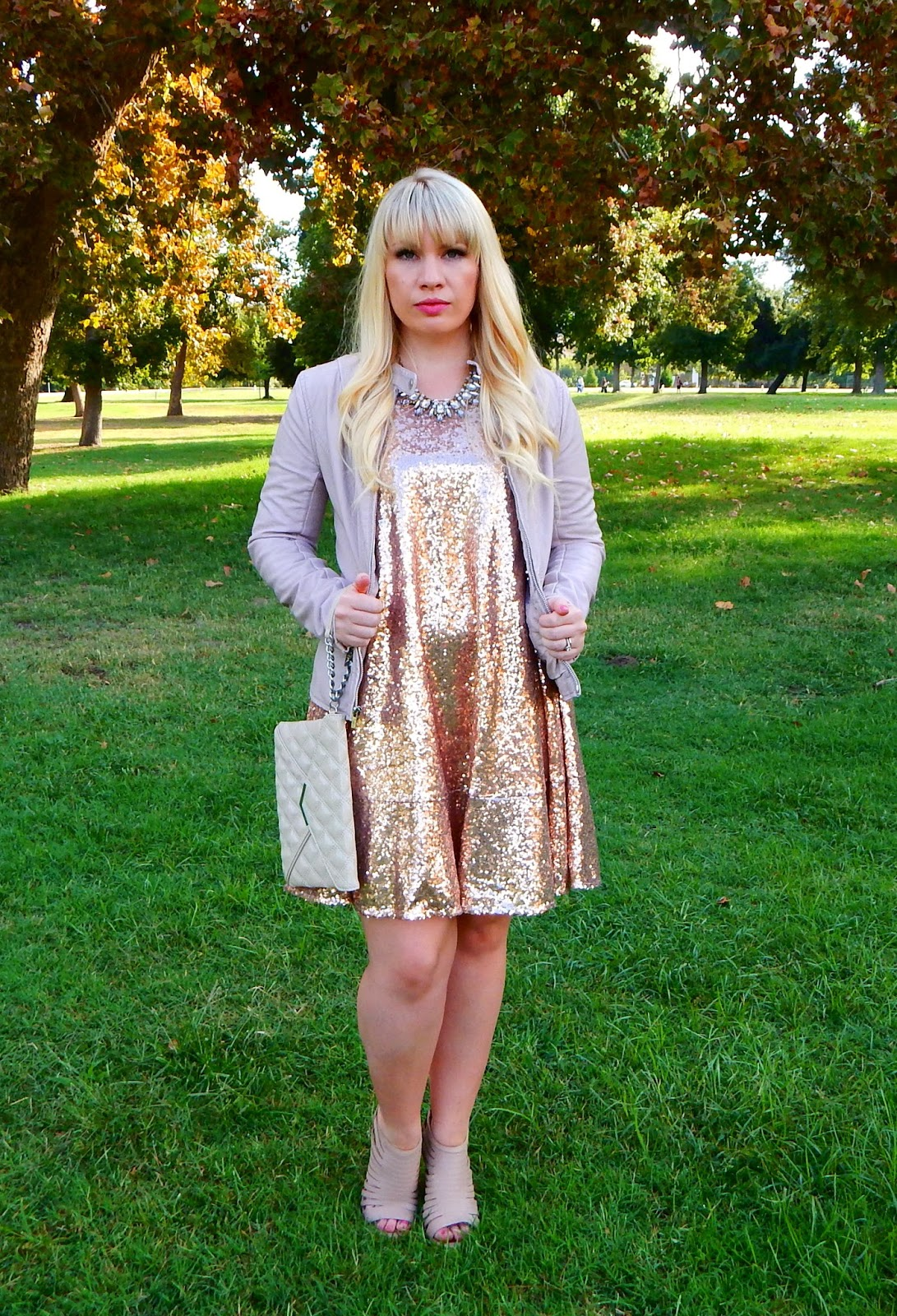 Rose Gold Sequins & Friday Favorites Link Up