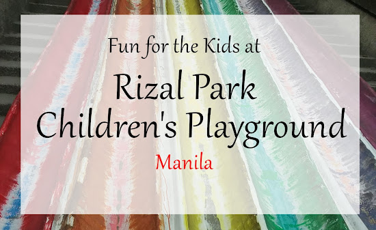 Fun for the Kids at Rizal Park Children's Playground