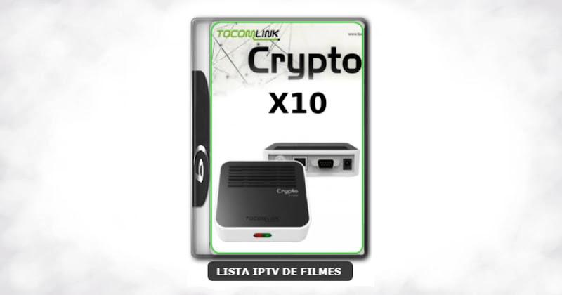 Tocomlink Dongle Crypto X10 Nova Atualização Satélite SKS 61w ON V1.023