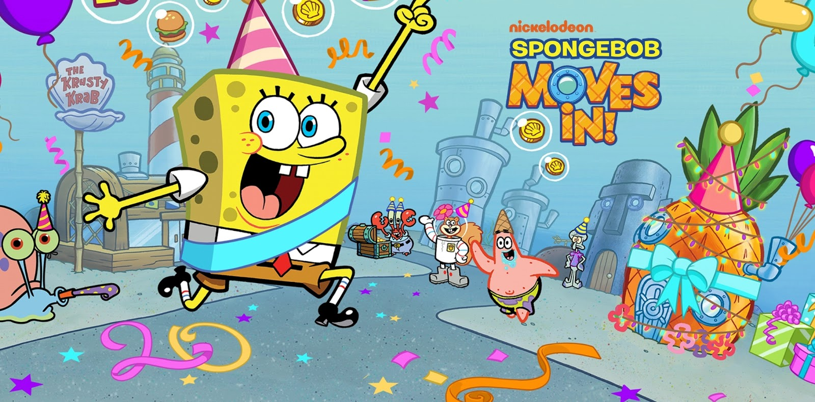 Spongebob moves in review, game spongebob terbaik, info game terbaru, review game terbaru, game spongebob, game rpg terbaik, game android terbaik 2019,