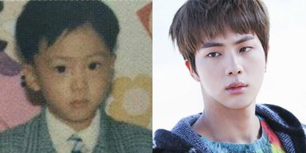 Pann Bts Jin S Shocking Past Photos Allkpop Forums