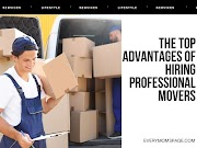 The Top Advantages Of Hiring Professional Movers