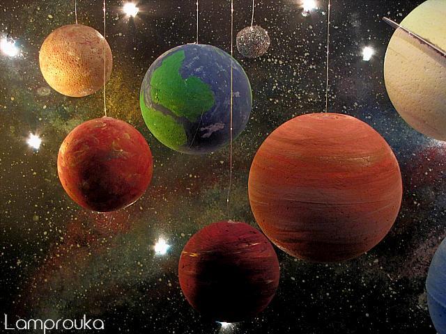 Οδηγίες για να φτιάξεις μόνος σου το ηλιακό σύστημα.