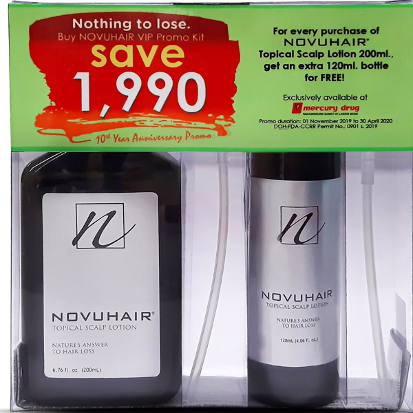Novuhair, VIP, free bottle of Novuhair, hair growth, hair loss, natural hair grower, organic hair grower, beauty, baldness, hairfall, hairfall control, Novuhair VIP Kit