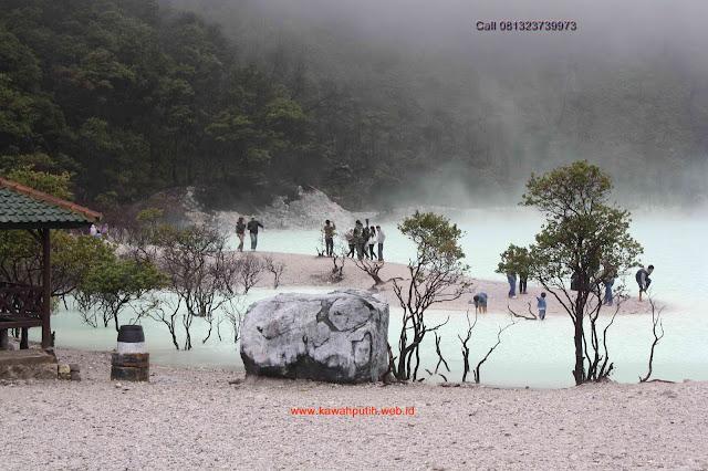 Kawah putih yang ada di indonesia