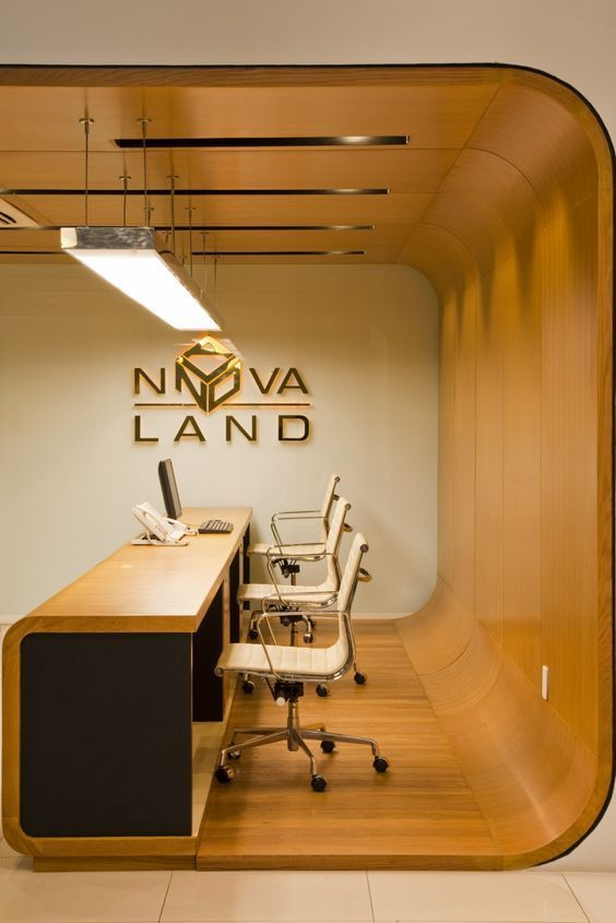 Desain Interior Lobby Kantor Minimalis