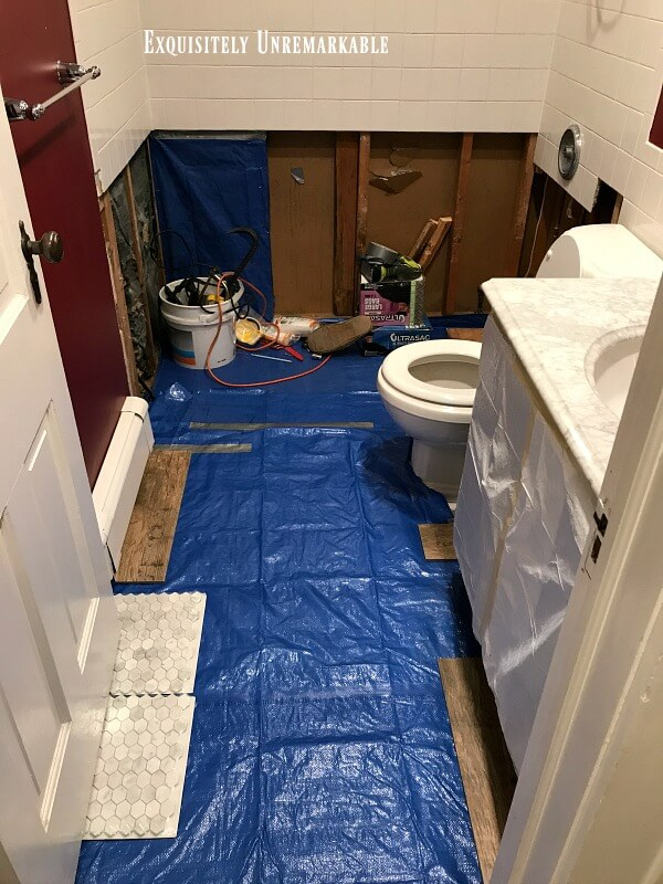 Ripping Out A Bathroom