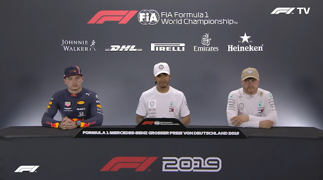 F1 2019 German GP - Post-Qualifying Press Conference