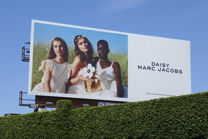 Daisy Marc Jacobs 2020 fragrance billboard