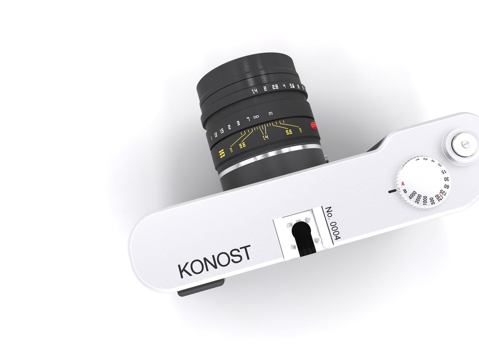 Камера Konost, вид сверху