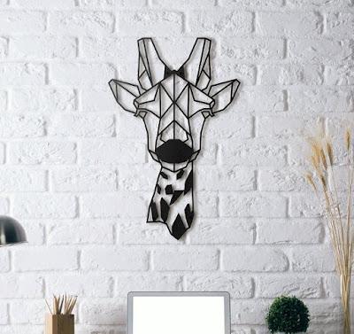 Giraffe Themed Living Room