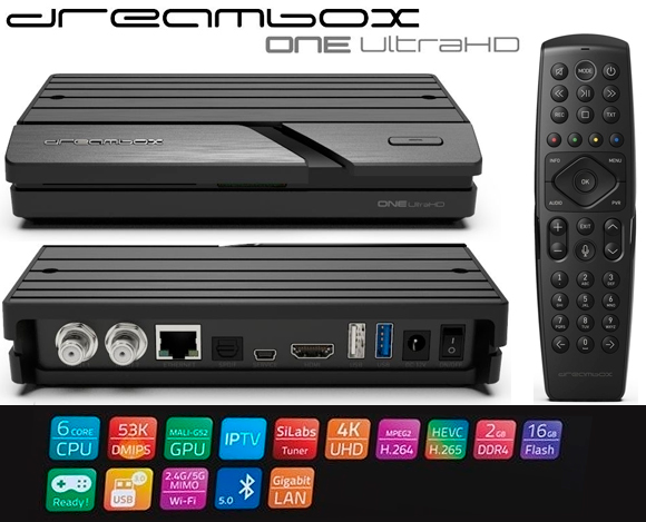The new Dreambox One Ultra HD & Dreambox Play - mysatbox tv