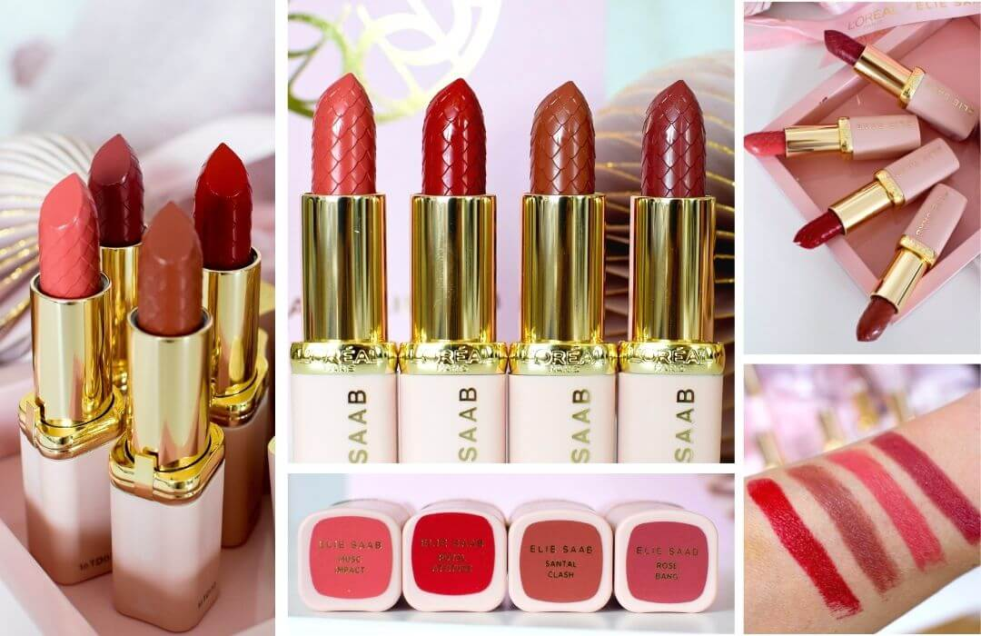 L'Oréal Paris x Elie Saab Lippenstifte