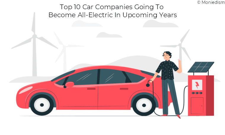 Top 10 Car Companies Going To Become All-Electric In Upcoming Years - Moniedism