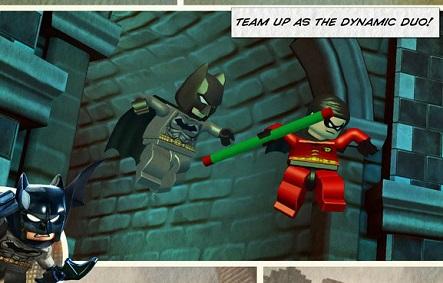 تحميل لعبة LEGO Batman Apk+Data للاندرويد