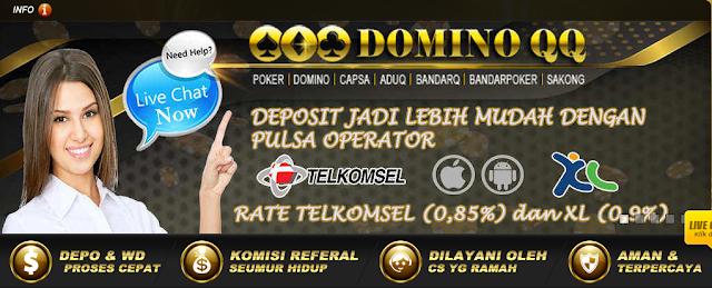 2 Situs Domino QQ Resmi Indonesia Berbiaya Murah dan Berkualitas Mewah