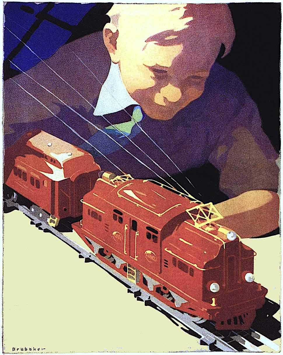 1928 toy child train