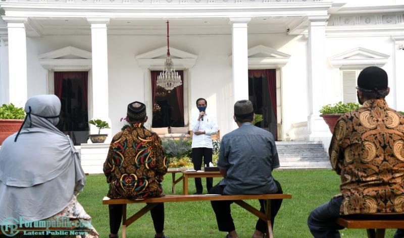 Jokowi Berikan Bantuan Modal Kerja bagi Pelaku Usaha Mikro dan Kecil