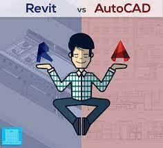 الفرق بين برنامج الاتوكاد والريفيت واهمية ال revit في سوق العمل